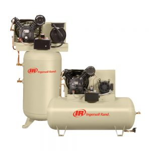 Reciprocating Air Compressor with Vertical or Horizontal Tank