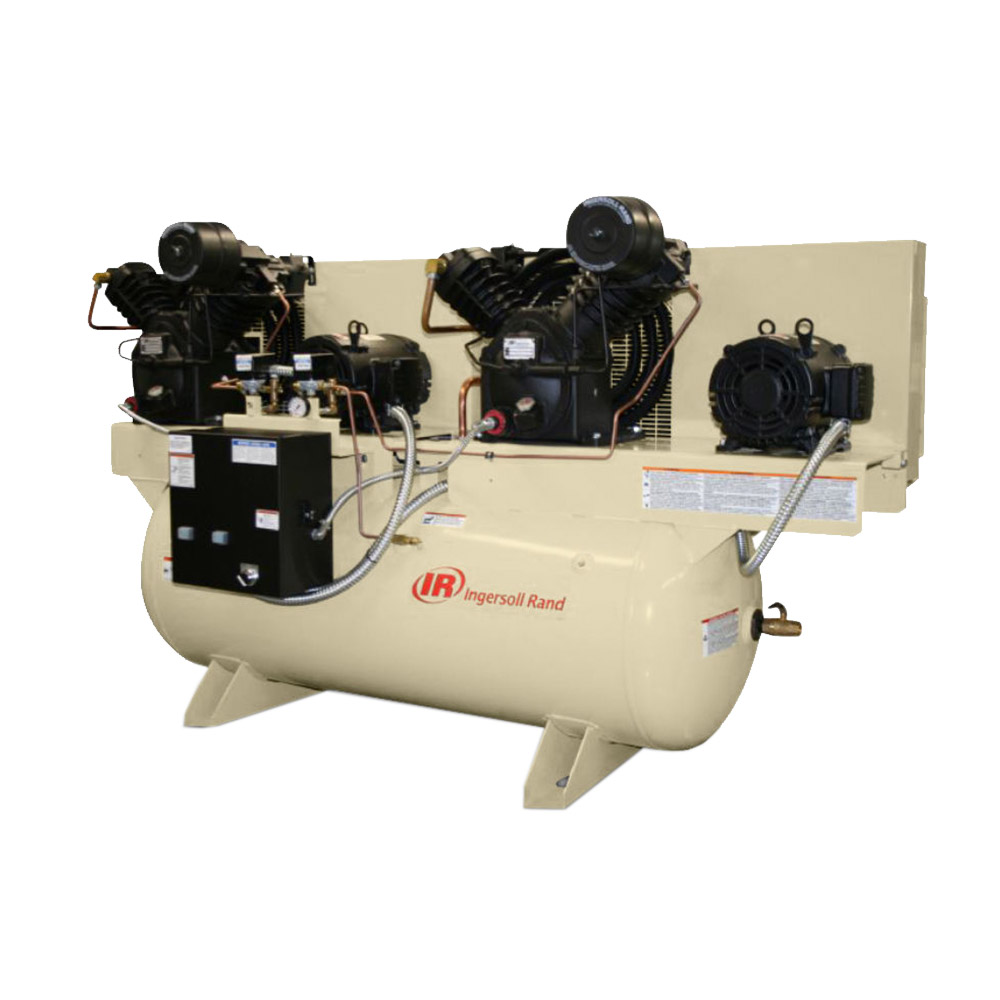 Duplex (Multistage) and High Pressure Air Compressors from Ingersoll Rand