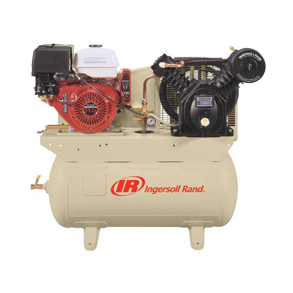 Ingersoll Rand Engine Driven Air Compressor