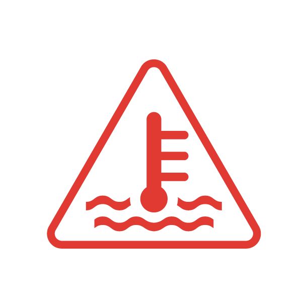 High Temp Symbol
