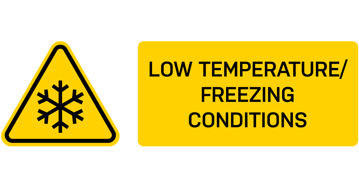 Low Temperature Warning